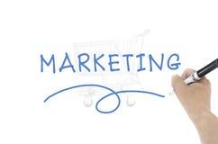 Marketing word royalty free stock image