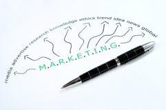 Marketing word Stock Photo