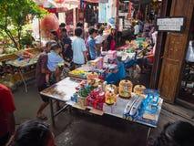 Marketing 100 years at Chachoengsao, Thailand Stock Photos