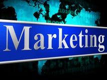 Marketingowa promocja Wskazuje sprzedaży promocje I Closeout ilustracji