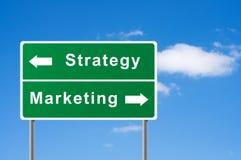 marketingowa szyldowa strategia ilustracji