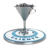 Marketingowe sprzedaże lub zamiana lej Obraz Stock