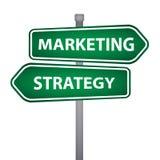 Marketingowy biznesowy filar Zdjęcia Stock