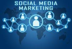 marketingowy medialny socjalny royalty ilustracja