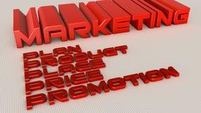 Marketingowy plan ilustracja wektor