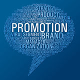 Marketingowy promocyjny mowa bąbel Zdjęcia Royalty Free