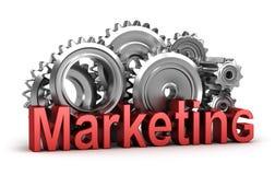 marketingowy ruch Zdjęcie Stock