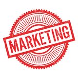 Marketingowy stemplowy gumowy grunge Obrazy Stock