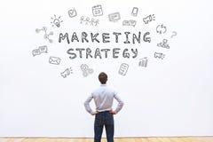 Marketingstrategie lizenzfreies stockbild