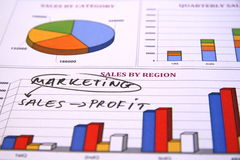 Marketingstrategie Lizenzfreie Stockbilder