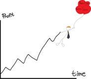 Marketingstrategie 4P Stockfoto