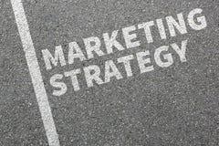 Marketingstrategieverkaufsverkaufsanzeigenfirmengeschäftsbetrug Stockbild