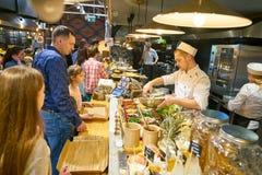 marketplace стоковое изображение rf