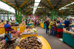 Marketplace in Brasov Stock Photography