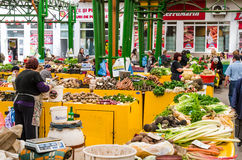 Marketplace in Brasov Royalty Free Stock Photography