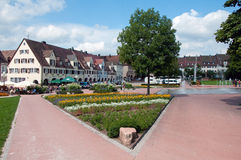 Marketplace in Freudenstadt Stock Photography