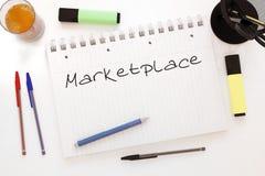 Marketplace Royalty Free Stock Photo