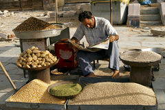 Marketplace in Jaipur, India. Stock Images