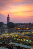 Marketplace of Marrakech Royalty Free Stock Photo