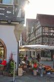 Marketplace in Schorndorf stock photo