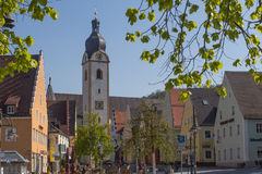 Marketplace Schwandorf Royalty Free Stock Photos