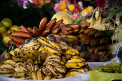 Markets of Antigua. The vibrant colors of produce in the markets of Antigua royalty free stock photo