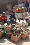 Marketscene de Nepal Imágenes de archivo libres de regalías