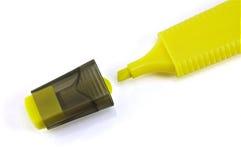markiera kolor żółty zdjęcia royalty free