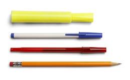 Pióro markiera ołówek Fotografia Stock