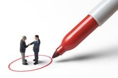 Markieren des guten Geschäft Lizenzfreie Stockbilder