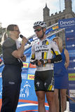 Markieren Sie Cavendish vom HTC Landstraßeteam Stockbilder