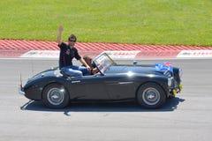 Markieren Sie Webber in 2012 F1 kanadisches großartiges Prix lizenzfreies stockbild