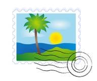 Markierung von der Reise lizenzfreie abbildung