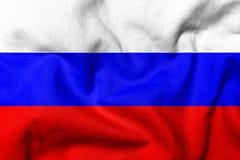 Markierungsfahne 3D von Russland Stockbild