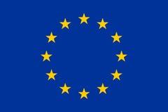 Markierungsfahne der Europäischen Gemeinschaft Lizenzfreie Stockbilder