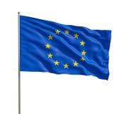 Markierungsfahne der Europäischer Gemeinschaft Lizenzfreie Stockbilder