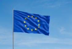 Markierungsfahne der Europäischer Gemeinschaft Stockfoto