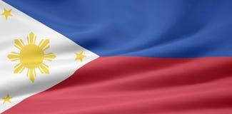 Markierungsfahne der Philippinen vektor abbildung