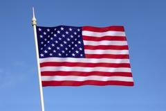 Markierungsfahne der Staaten von Amerika Lizenzfreies Stockbild
