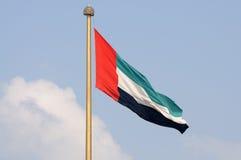 Markierungsfahne der United Arab Emirates Lizenzfreies Stockfoto