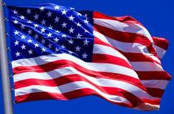 Markierungsfahne der USA Stockfoto