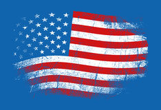 Markierungsfahne der USA Lizenzfreie Stockfotografie