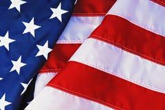 Markierungsfahne der Vereinigten Staaten Stockfotos