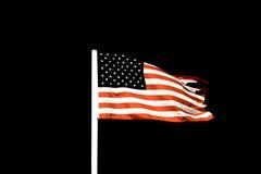 Markierungsfahne der Vereinigten Staaten Stockfoto