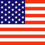 Markierungsfahne des Amerikaners Lizenzfreie Abbildung