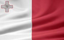 Markierungsfahne des Maltas Stockbilder