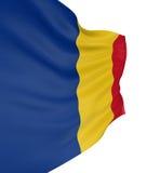 Markierungsfahne des Rumänen 3D Lizenzfreie Stockfotos