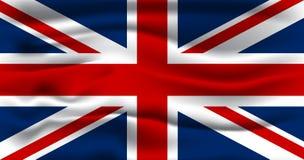 Markierungsfahne des Vereinigten Königreichs Lizenzfreie Stockfotos