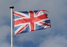 Markierungsfahne des Vereinigten Königreichs Lizenzfreies Stockbild