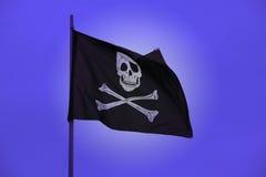 Markierungsfahne eines Piraten Lizenzfreie Stockfotos
